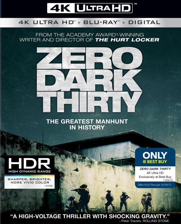 Zero Dark Thirty [Includes Digital Copy] [4K Ultra HD Blu-ray/Blu-ray] [2 Discs] [2012] 5947711