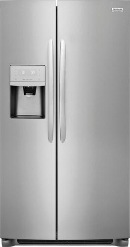 Frigidaire - Gallery 25.5 Cu. Ft. Side-by-Side Refrigerator - Stainless steel 5948561