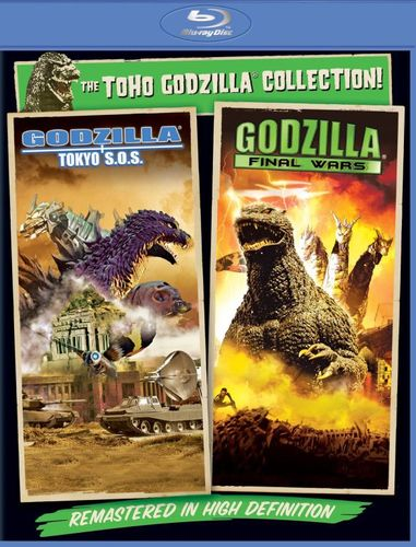 Godzilla: Final Wars/Godzilla: Tokyo S.O.S [Blu-ray] [2 Discs] 5953064