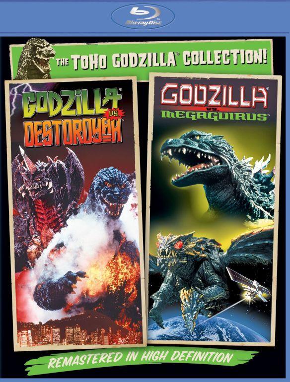 Godzilla vs. Destoroyah/Godzilla vs. Megaguirus [Blu-ray] 5955035