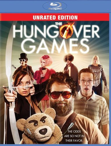 The Hungover Games [Unrated] [Blu-ray] [2014] 5955044