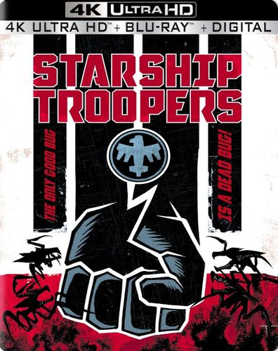 Starship Troopers: 20th Anniversary [SteelBook] [4K Ultra HD Blu-ray/Blu-ray] [Only @ Best Buy] [1997] 5957507