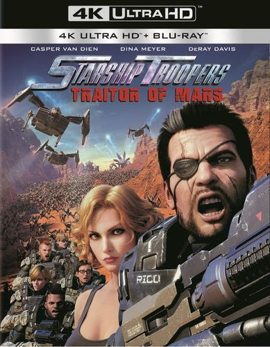 Starship Troopers: Traitor of Mars [4K Ultra HD Blu-ray/Blu-ray] [2 Discs] [2017] 5957518