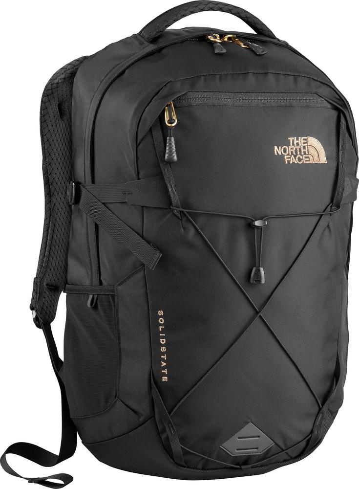 The North Face - Women s Solid State Laptop Backpack - Black Rose Gold ad85b354d23bd