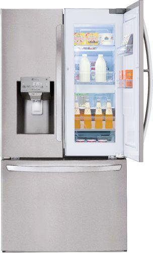 LG LFXS28566S 27.7 Cu. Ft. Stainless French Door Refrigerator with Door-in-Door