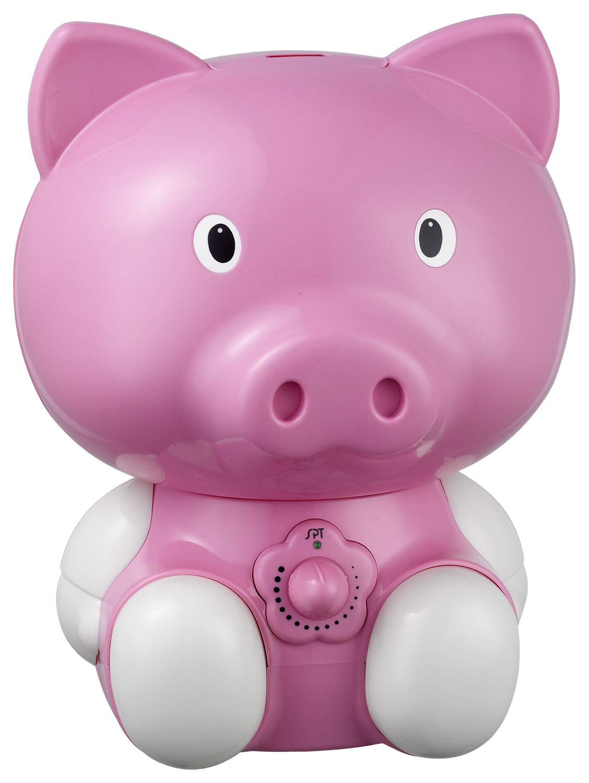 SPT - Cute Animal Series 0.5 Gal. Cool Mist Ultrasonic Humidifier - Pink 5969137