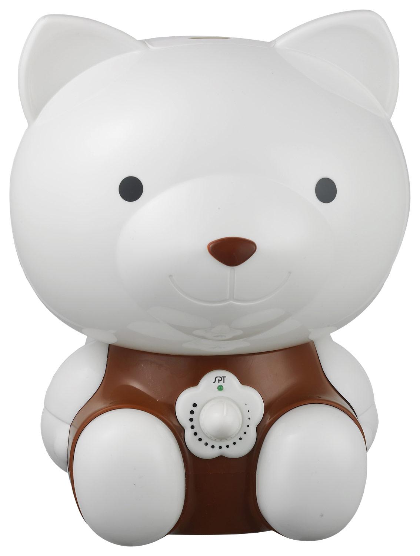 SPT - Cute Animal Series 0.5 Gal. Cool Mist Ultrasonic Humidifier - White/Brown 5969233
