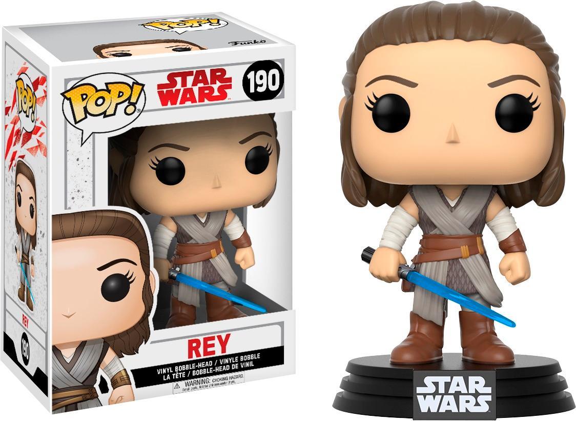 Funko - Pop! Star Wars Last Jedi Rey