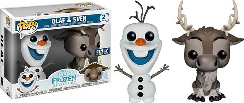 Funko - POP Disney: Frozen 2PK - Olaf and Sven 5973319