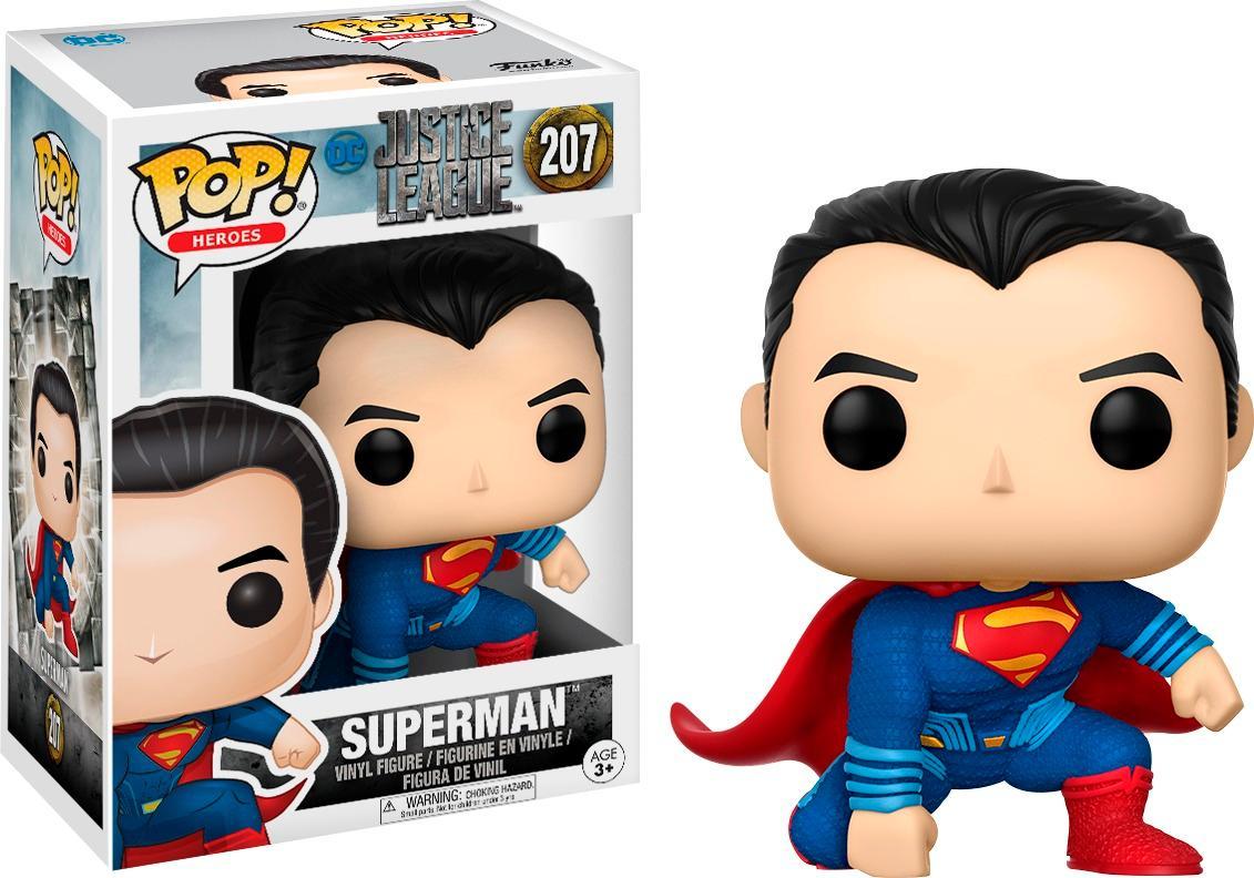 Funko - Pop! Movies: DC Comic's Justice League - Superman 5973330