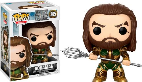 Funko - Pop! Movies: DC Comic's Justice League - Aquaman
