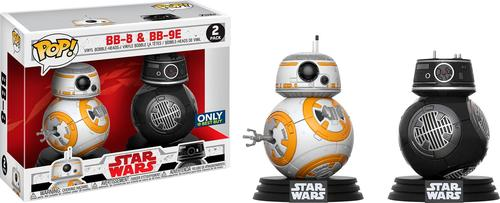 Funko - POP! Star Wars Last Jedi: BB-8 and BB9-E