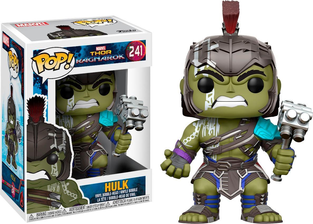 Funko - Pop! Marvel Thor Ragnarok Hulk - Multicolor