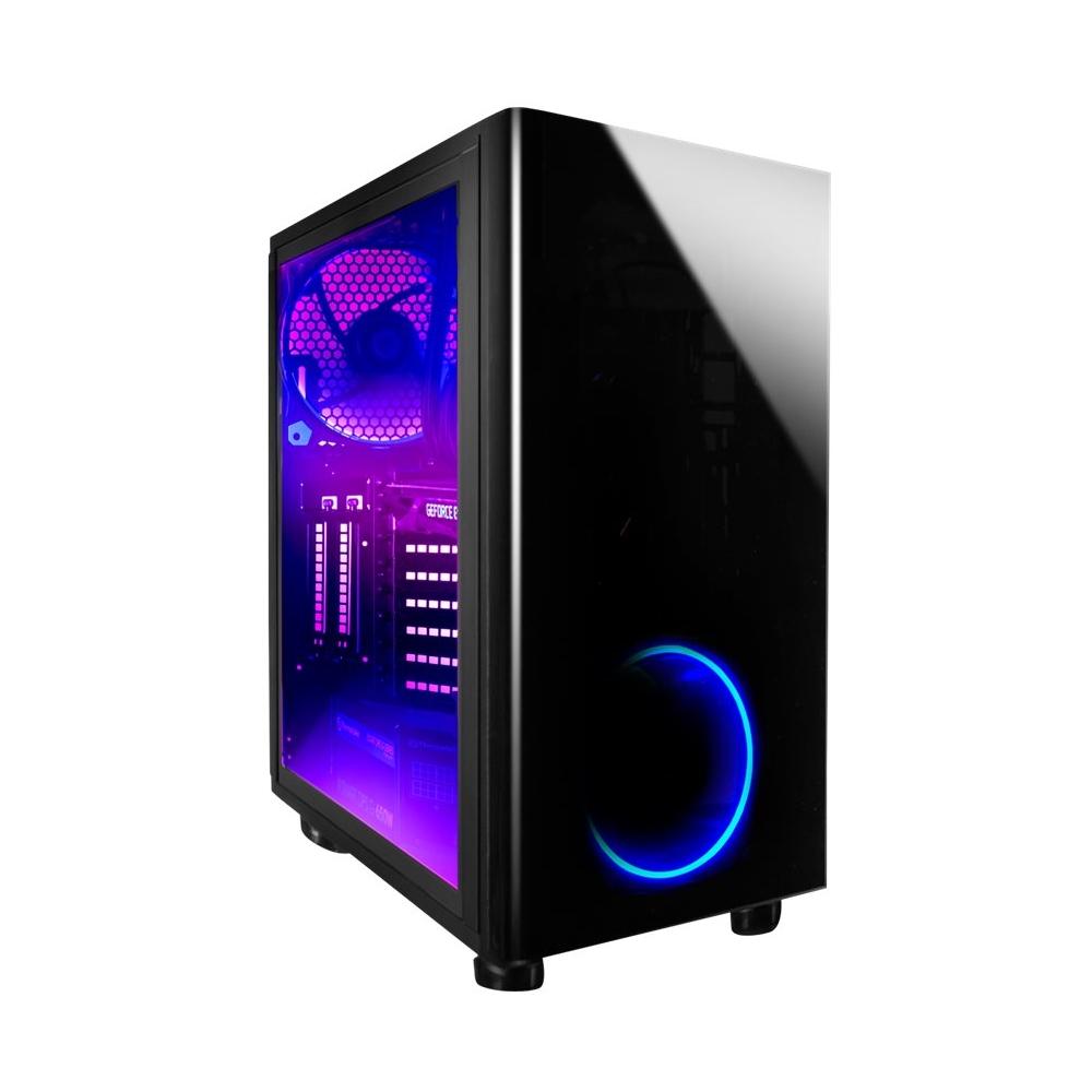 iBUYPOWER BB1040X Desktop Intel Core i9 32GB Memory NVIDIA GeForce GTX 1080 Ti 240GB Solid State Drive + 3TB Hard Black