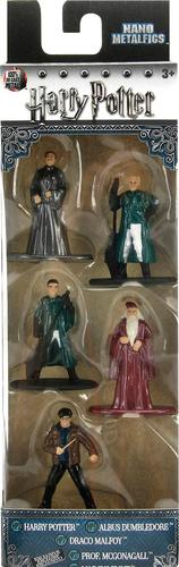 "Nano Metalfigs - Harry Potter 1.5"" Diecast Figure (5-Pack) 5975306"