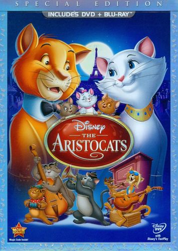 The Aristocats [Special Edition] [2 Discs] [DVD/Blu-ray] [Blu-ray/DVD] [1970] 5975417