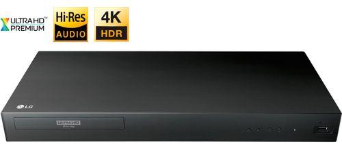 LG - UP875 4K Ultra HD 3D Blu-ray Player - Black UP875