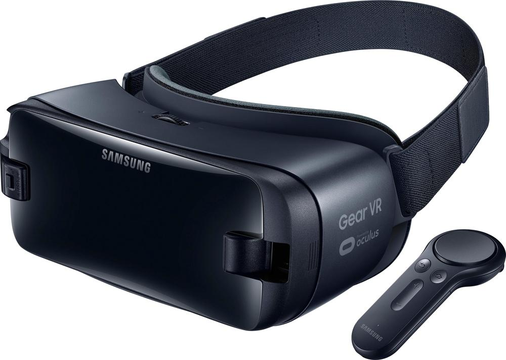 Samsung - Gear VR Virtual Reality Headset - Orchid Gray