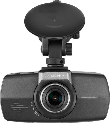 Insignia Full HD 1080p Video Dash Cam with Suction Cup Mount - Black NS-CT1DC8 (Refurbished)