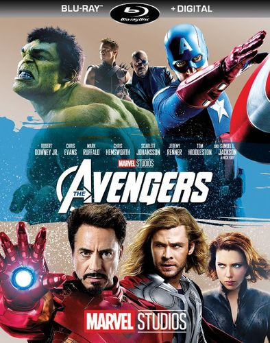 The Avengers [Includes Digital Copy] [Blu-ray] [2012] 5981103