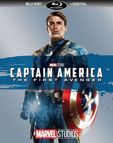Captain America: The First Avenger [Includes Digital Copy] [Blu-ray] [2011] 5981104