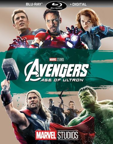 Avengers: Age of Ultron [Includes Digital Copy] [Blu-ray] [2015] 5981107