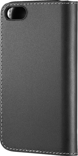 Platinum - Folio Case for Apple® iPhone® 7 and 8 - Charcoal