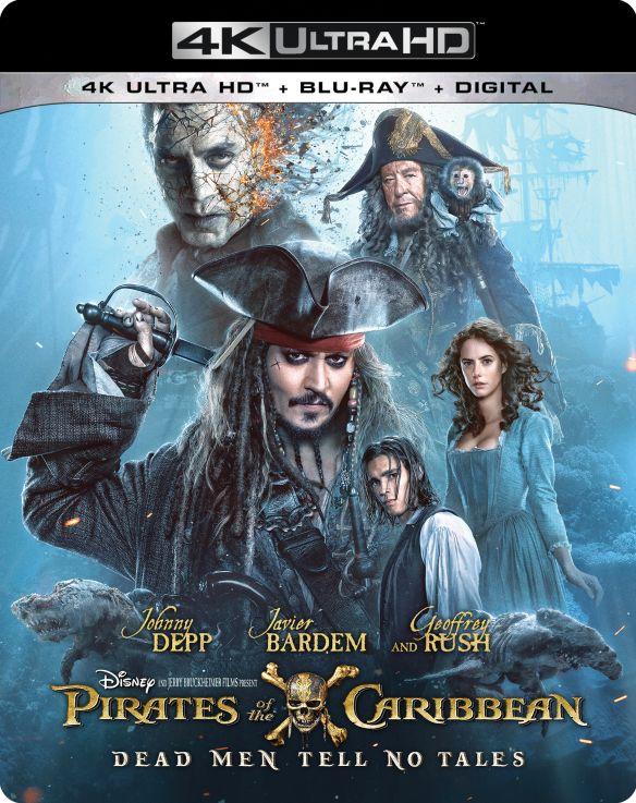 Pirates of the Caribbean: Dead Men Tell No Tales [4K Ultra HD Blu-ray/Blu-ray] [2017] 5982606