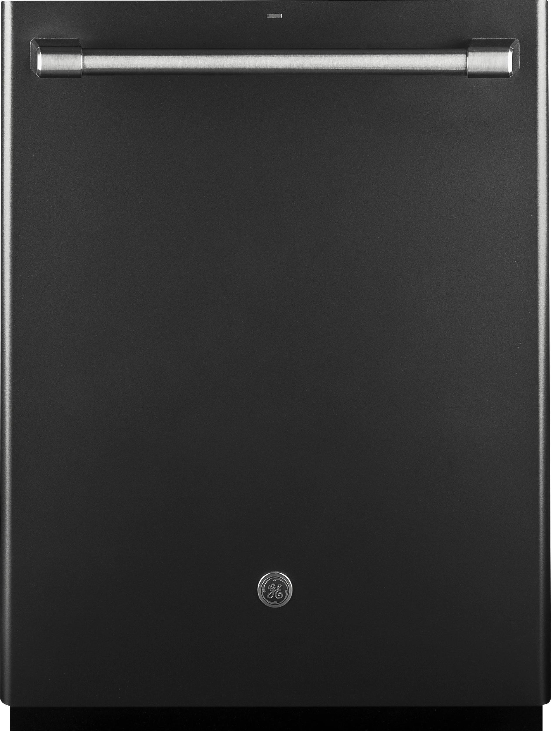 """GE Caf Series 24"""" Built-In Dishwasher Black slate CDT835SMJDS"""