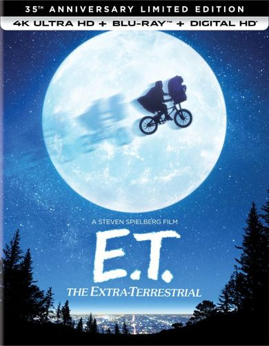 E.T. the Extra-Terrestrial [35th Anniversary Limited Edition] [4K Ultra HD Blu-ray] [1982] 5984521
