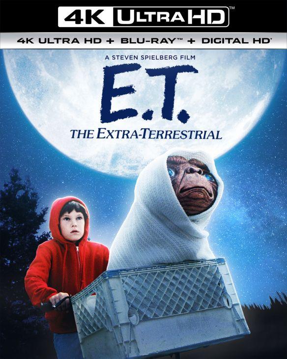 E.T. the Extra-Terrestrial [Includes Digital Copy] [UltraViolet] [4K Ultra HD Blu-ray] [2 Discs] [1982] 5984531