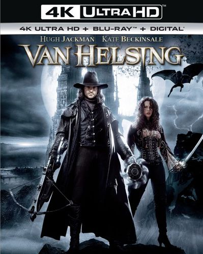 Van Helsing [Includes Digital Copy] [UltraViolet] [4K Ultra HD Blu-ray] [2 Discs] [2004] 5984532