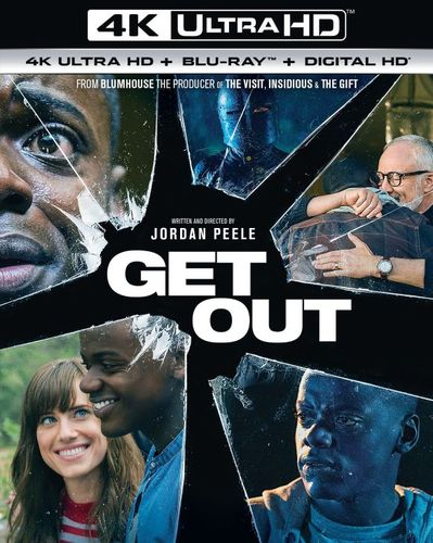 Get Out [Includes Digital Copy] [UltraViolet] [4K Ultra HD Blu-ray] [2 Discs] [2017] 5984534