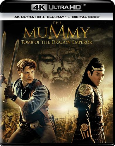 The Mummy: Tomb of the Dragon Emperor [4K Ultra HD Blu-ray] [2 Discs] [2008] 5984536