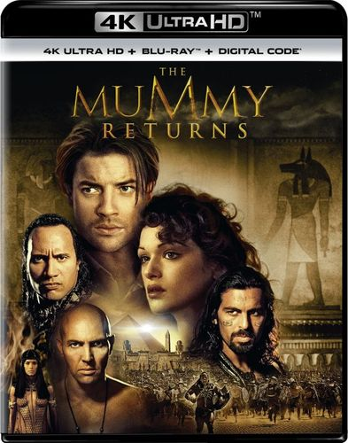 The Mummy Returns [Includes Digital Copy] [UltraViolet] [4K Ultra HD Blu-ray] [2 Discs] [2001] 5984541
