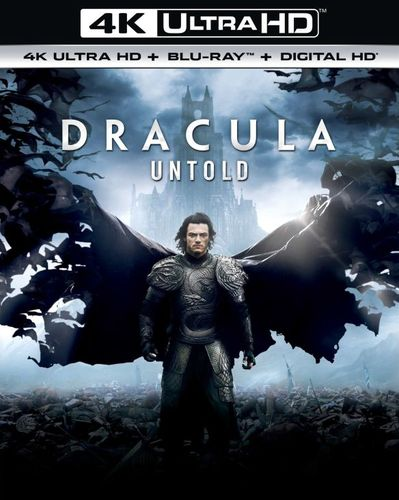 Dracula Untold [Includes Digital Copy] [UltraViolet] [4K Ultra HD Blu-ray] [2 Discs] [2014] 5984543