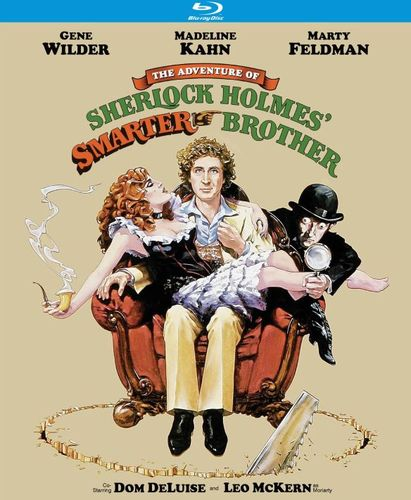 The Adventure of Sherlock Holmes' Smarter Brother [Blu-ray] [1975] 5984545