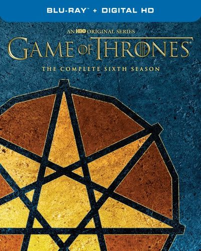 Game of Thrones: Season Six [Blu-ray] [Only @ Best Buy] [Seven Pointed Star Sigil] 5985011