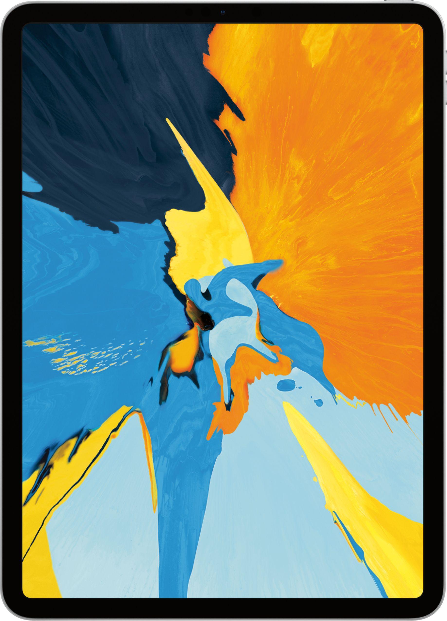 Apple 11-Inch iPad Pro (Latest Model) with Wi-Fi 256GB Silver MTXR2LL/A