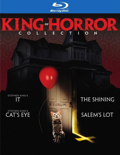 King of Horror Collection [Blu-ray] [4 Discs] 5986603