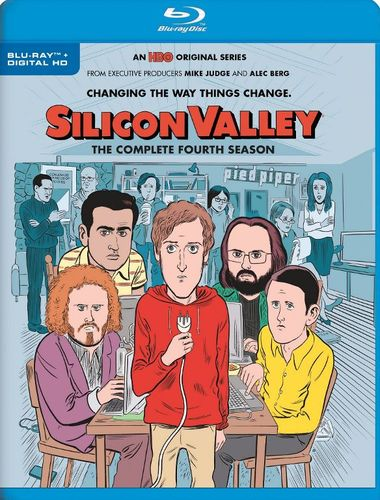 Silicon Valley: The Complete Fourth Season [Blu-ray] 5986615
