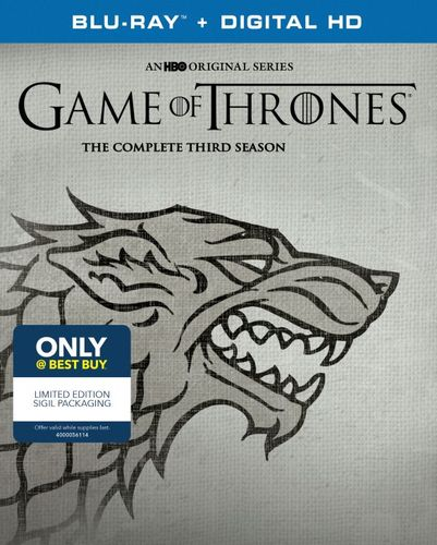 Game of Thrones: The Complete Third Season [Blu-ray] 5988104