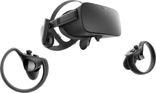 Oculus - Rift + Touch Virtual Reality Headset Bundle for Compatible Windows PCs - Black 5989502