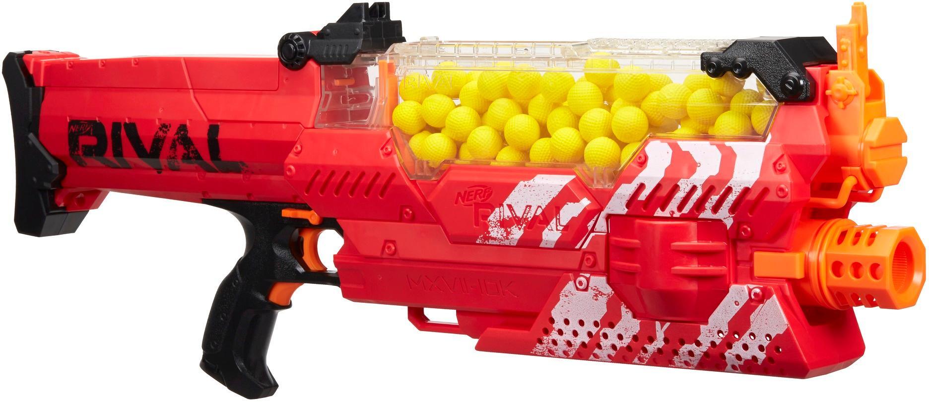NERF Rival Nemesis MXVII-10K Blaster - Red