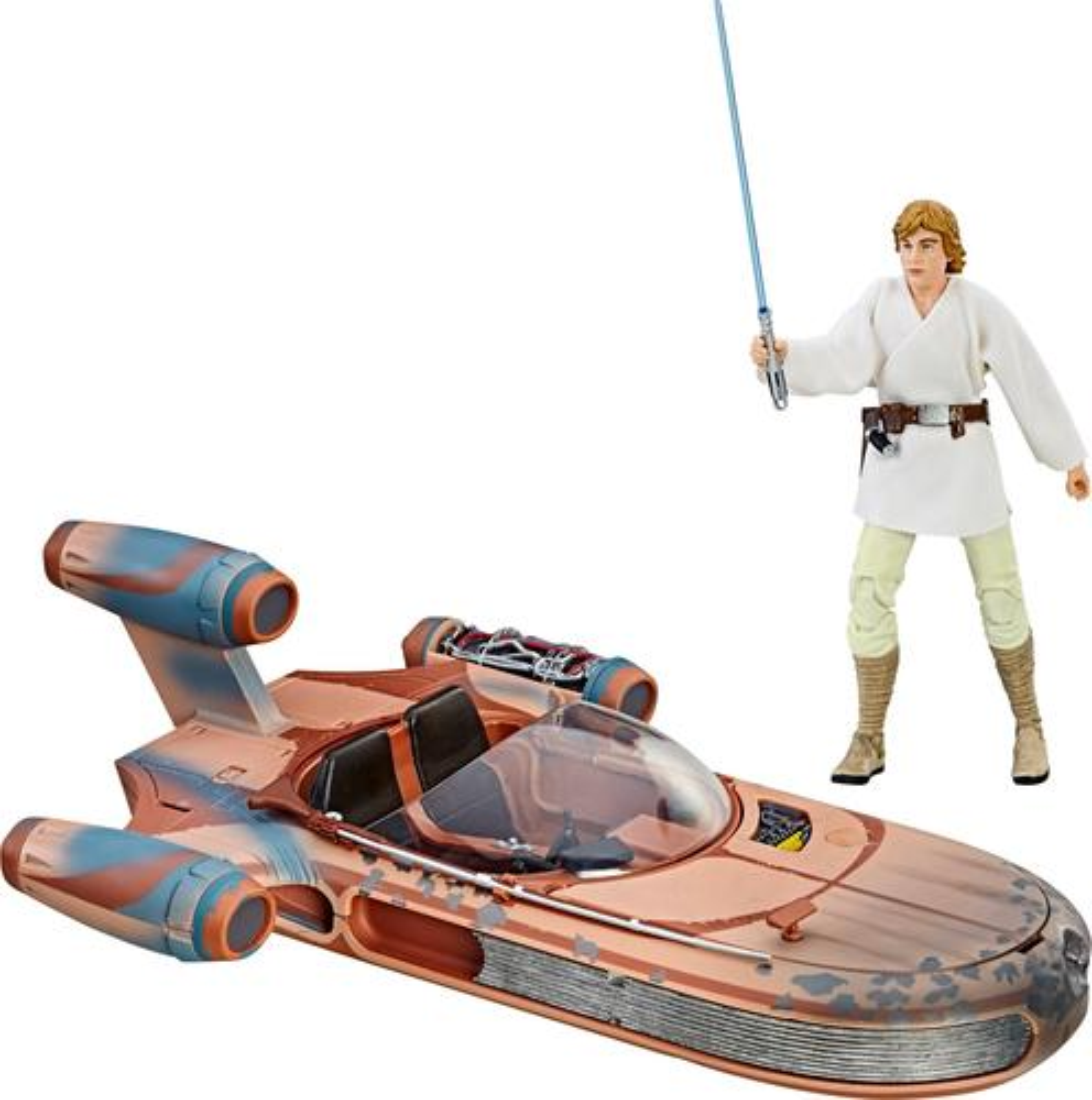 Star Wars - The Black Series Luke Skywalker Landspeeder & Figure 5990414