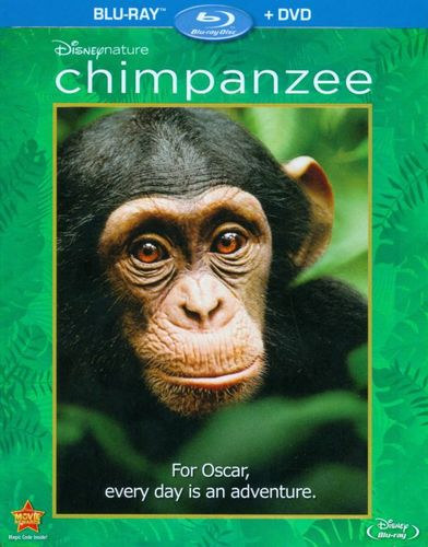 Disneynature Chimpanzee [2 Discs] [Blu-ray/DVD] [2012] 5990707