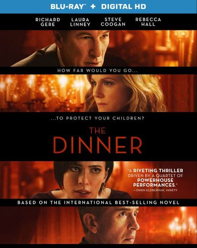 The Dinner [Blu-ray] [2 Discs] [2017] 5992926