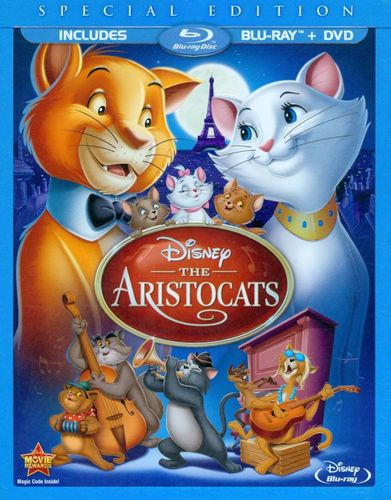 The Aristocats [Special Edition] [2 Discs] [Blu-ray/DVD] [1970] 5994903