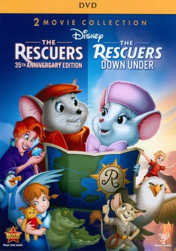 The Rescuers: 35th Anniversary Edition/The Rescuers Down Under [2 Discs] [DVD] 5994994