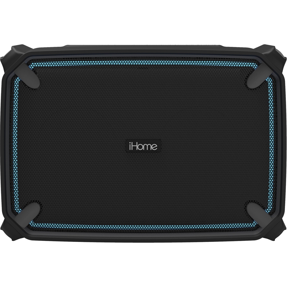 iHome IBT374BGC Portable Bluetooth Speaker Black/gray